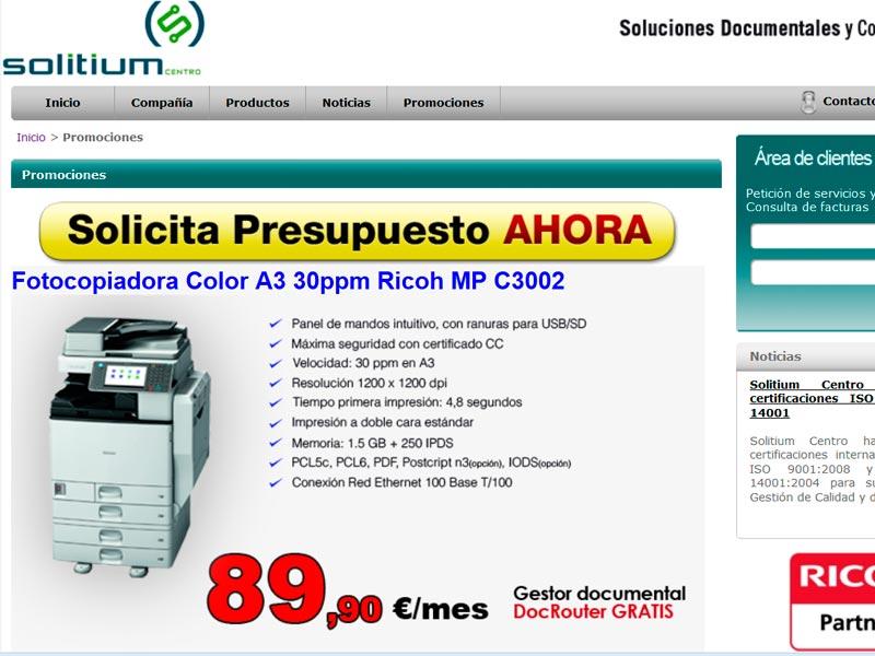 Logo Grupo Solitium Zoom Digital. Agencia de posicionamiento web Madrid
