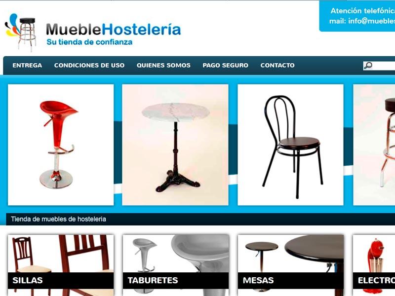 Campañas Adwords y captación de datos. Muebles Hostelería. Zoom Digital. Agencia de posicionamiento web Madrid