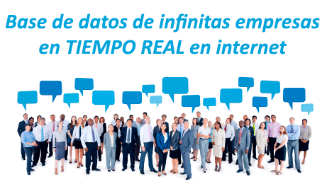 Sofware de bases de datos de infinitos clientes. Agencia de Marketing online ZOOM DIGITAL
