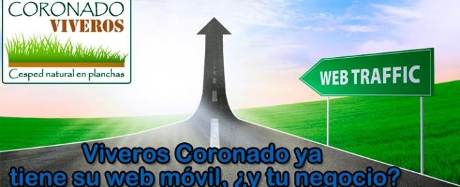 Nueva web móvil para Viveros Coronado de Navalcarnero