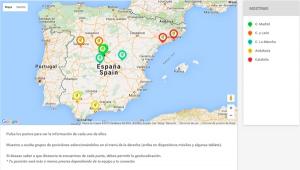 Mapa de puntos de ubicaciones de tus tiendas y negocio para usuarios de App móvil. Zoom Digital agencia de mkt onlien