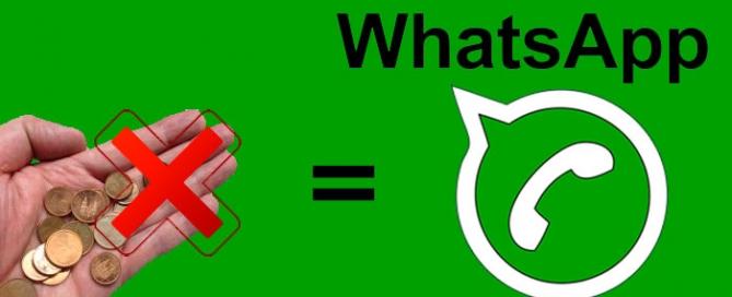 WhatsApp dejará de cobrar el abono anual. Zoom Digital agencia de Marketing online
