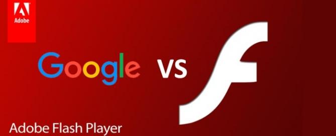 Google no soportará archivos Flash de Adobe a partir de 2017