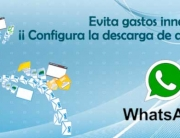 configuracion de archivos de descarga en WhatsApp. Zoom Digital