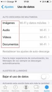 Configuración de descarga de documentos WhastApp. Zoom Digital