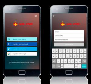 cómo registrarse en app móvil Naval Ahorro. Zoom Digital