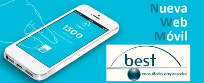 Web móvil para gestorías y asesores de empresas. Zoom Digital agencia de marketing online
