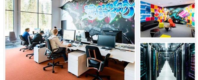 Centro de datos de Facebook Lulea en Suecia, Zoom Digital