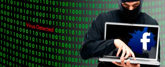como eliminar virus en Facebook