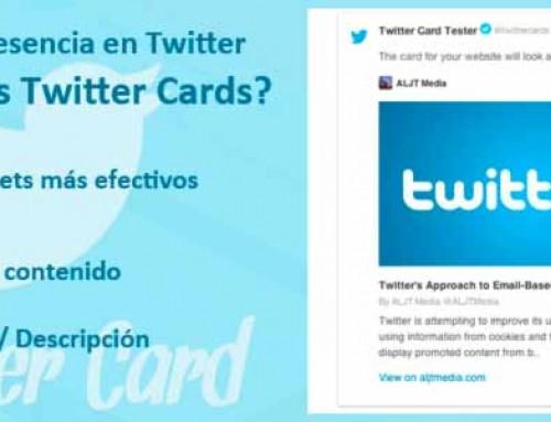 Como crear las Twitter Cards