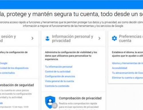 ¿Que información tuya guarda Google?: Protége tu privacidad en Google