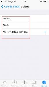 Configuracíón Wi-Fi WhatsApp. Zoom Digital