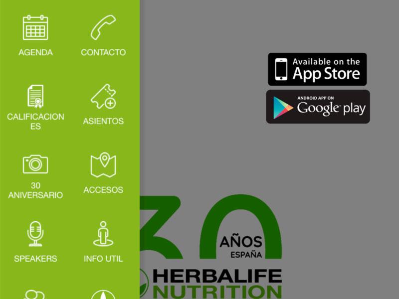 App móvil Herbalife