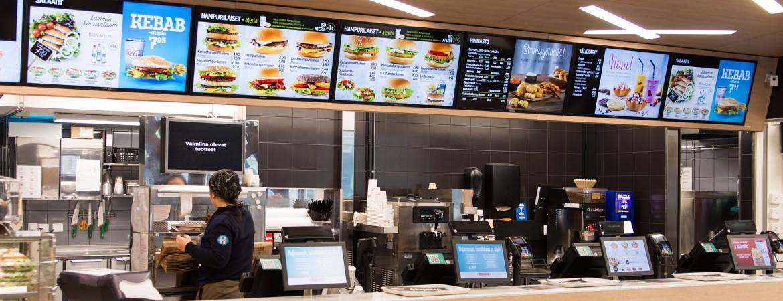 carteleria digital restaurantes Zoom digital