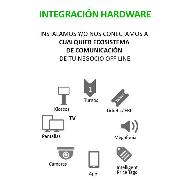 Datos internos cartelería digital inteligente